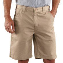 Carhartt Basic Cotton Work Shorts (For Men) in Stone - 2nds