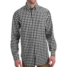 Carhartt Bellevue Plaid Shirt - Slim Fit, Button Collar, Long Sleeve (For Men) in Black - Closeouts