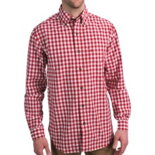 Carhartt Bellevue Plaid Shirt - Slim Fit, Button Collar, Long Sleeve (For Men) in White - Closeouts