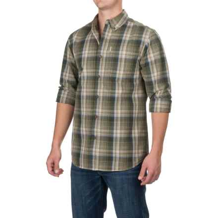 Carhartt Bellevue Shirt - Long Sleeve, Factory Seconds (For Men) in Burnt Olive - 2nds