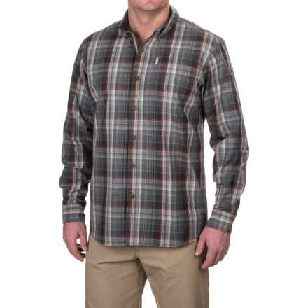 Carhartt Bellevue Shirt - Long Sleeve, Factory Seconds (For Men) in Shadow - 2nds