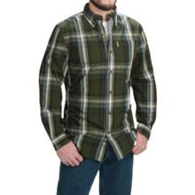 Carhartt Bellevue Shirt - Long Sleeve (For Men) in Duffle Bag Green - 2nds