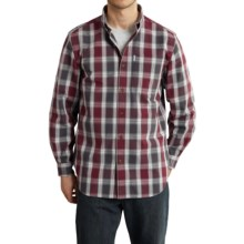 Carhartt Bellevue Shirt - Long Sleeve (For Men) in Port - 2nds