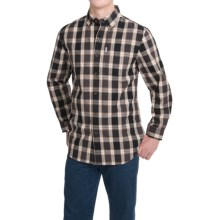 Carhartt Bellevue Shirt - Long Sleeve (For Men) in Shadow - 2nds