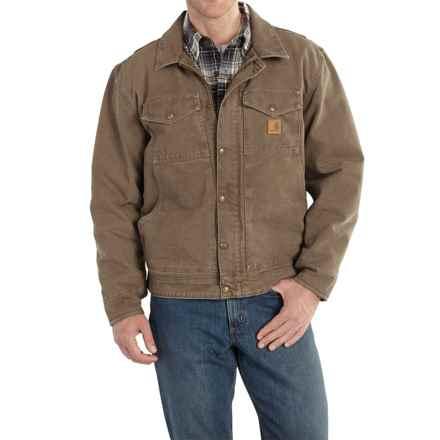 Carhartt Berwick Sandstone Duck Jacket - Factory Seconds (For Men) in Light Brown - 2nds