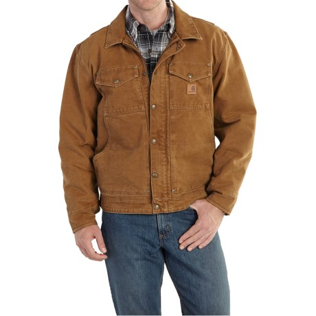 Carhartt Berwick Sandstone Duck Jacket (For Big and Tall Men)