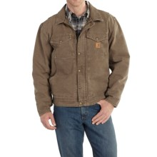 Carhartt Berwick Sandstone Duck Jacket (For Men) in Light Brown - 2nds