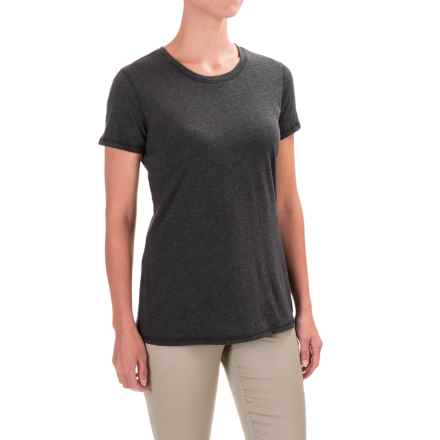 Carhartt Blank Cotton T-Shirt - Short Sleeve, Factory Seconds (For Women) in Black Heather - 2nds