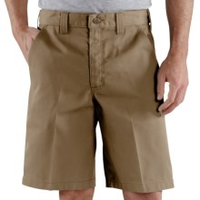 Carhartt Blended Twill Work Shorts (For Men) in Khaki - 2nds