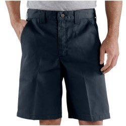 Carhartt Blended Twill Work Shorts (For Men) in Navy
