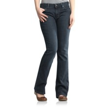 Carhartt Bootcut Jeans - Curvy Fit (For Women) in Indigo Rinse - 2nds