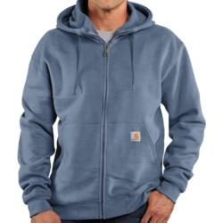 Carhartt Brushed Fleece Hooded Jacket (For Men) in Mineral Blue