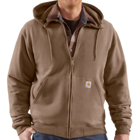 Carhartt Brushed Fleece Hoodie Sweatshirt (For Men)