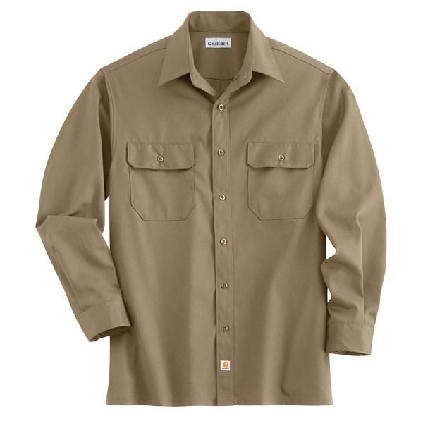 Carhartt Button-Up Twill Work Shirt (For Men)