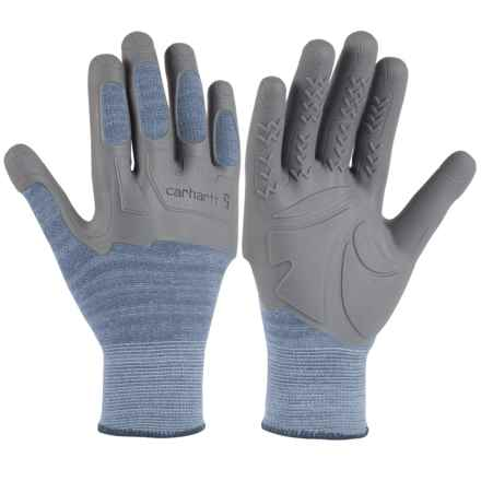 Carhartt C-Grip Knuckler Gloves (For Women) in Country Blue - Closeouts