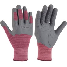 Carhartt C-Grip Knuckler Gloves (For Women) in Raspberry - Closeouts