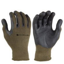 Carhartt C-Grip Pro Palm Gloves (For Men and Women) in Army Green - Closeouts