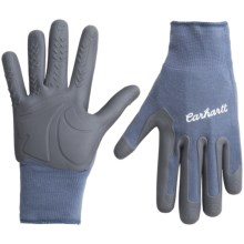 Carhartt C-Grip Pro Palm Work Gloves (For Women) in Country Blue - Closeouts