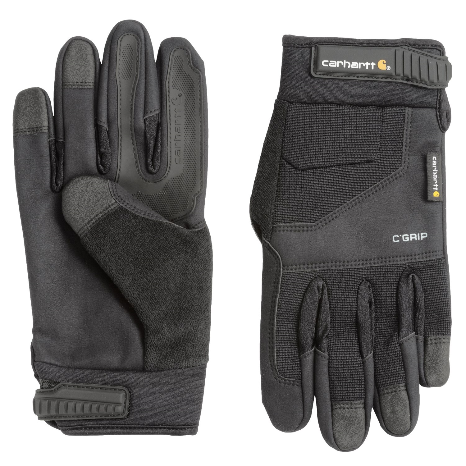 Black grip gloves - Click To Expand