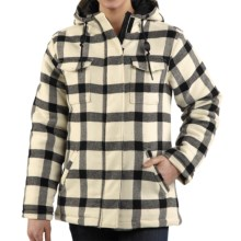 Carhartt Camden Wool Parka (For Women) in Winter White - Closeouts