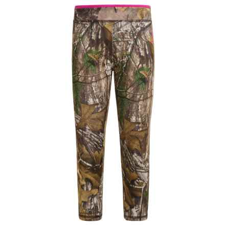 Carhartt Camo Capris (For Little Girls) in Dark Brown Print - Closeouts