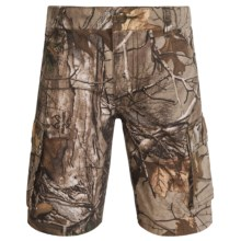 Carhartt Camo Cargo Shorts (For Little and Big Boys) in Dark Brown Print - Closeouts