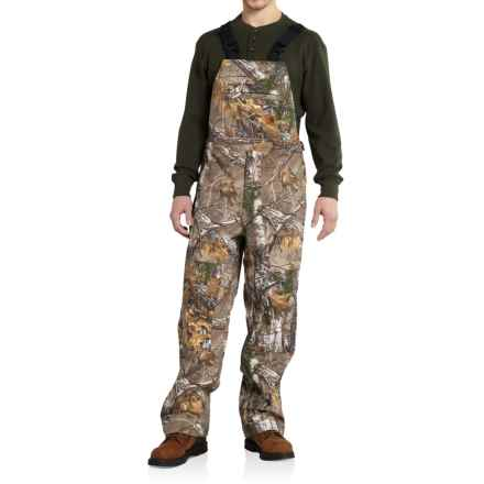 Carhartt Camo Shoreline Bib Overalls - Factory Seconds (For Men) in Realtree Xtra - 2nds