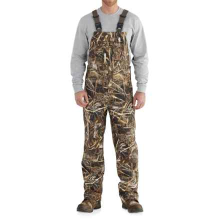 Carhartt Camo Shoreline Bib Overalls - Waterproof, Factory 2nds (For Big and Tall Men) in Realtree Xtra - 2nds