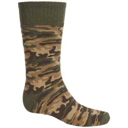 Carhartt Camouflage Socks - Mid Calf (For Men) in Olive - Closeouts