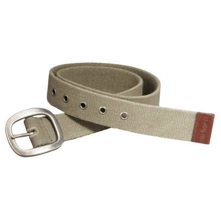 Carhartt Canvas Belt (For Women) in Tan - Closeouts