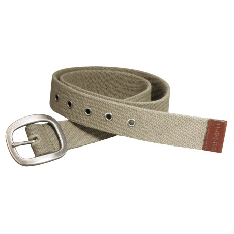 Carhartt Canvas Belt (For Women) in Tan