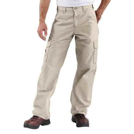 Carhartt Canvas Utility Work Pants - Cotton (For Men) in Tan - 2nds