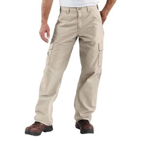 Carhartt Canvas Utility Work Pants - Cotton (For Men) in Tan