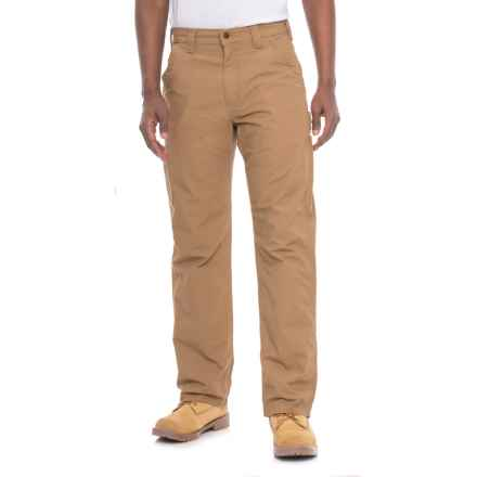 Carhartt Canvas Work Dungaree Jeans - Loose Original Fit, Factory Seconds (For Men) in Dark Khaki - 2nds