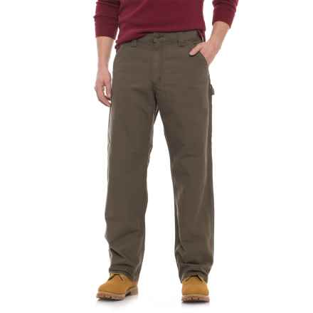 Carhartt Canvas Work Dungaree Jeans - Loose Original Fit, Factory Seconds (For Men) in Light Brown - 2nds