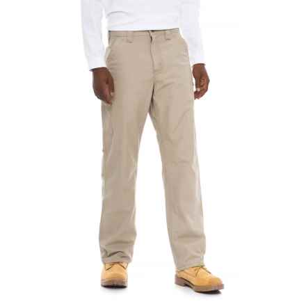 Carhartt Canvas Work Dungaree Jeans - Loose Original Fit, Factory Seconds (For Men) in Tan - 2nds