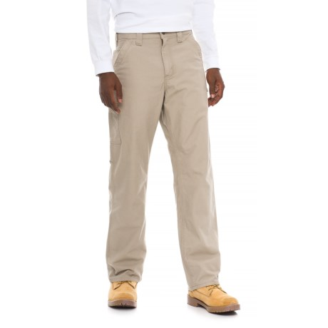 Carhartt Canvas Work Dungaree Jeans - Loose Original Fit, Factory Seconds (For Men) in Tan