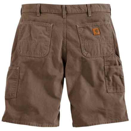 Carhartt Canvas Work Shorts - 8.5 oz. Canvas, Factory Seconds (For Men) in Mushroom - 2nds