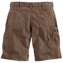 Carhartt Canvas Work Shorts - 8.5 oz. Canvas (For Men) in Mushroom - 2nds
