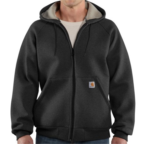 Carhartt Car-Lux Hooded Jacket (For Men) in Black