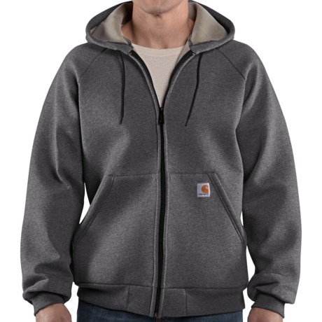 Carhartt Car-Lux Hooded Jacket (For Men) in Carbon Heather