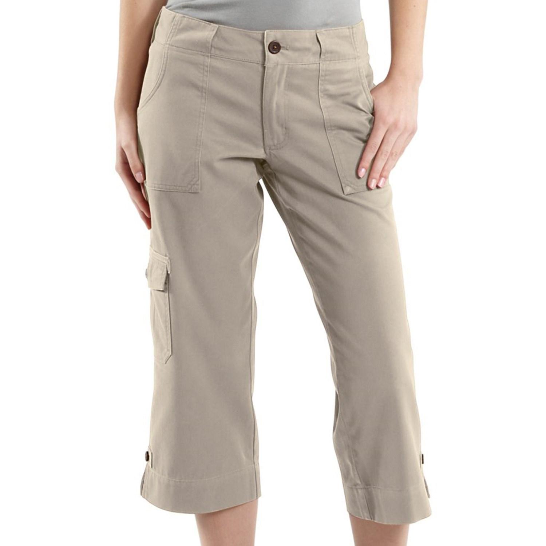 Unique Women39s Carhartt Ripstop Cropped Cargo Pants  184307 Jeans Amp Pants