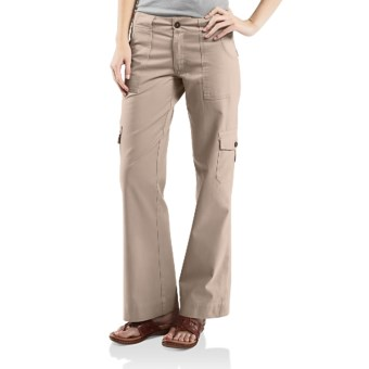 Carhartt Cargo Pants (For Women) in Stone