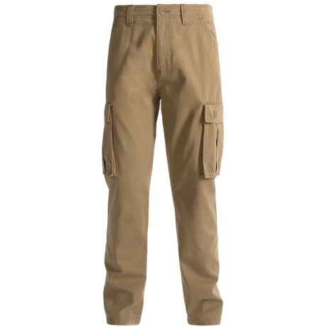 Carhartt Cargo Pocket Work Pants (For Men) in Field Khaki