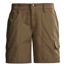 Carhartt Cargo Shorts - Canvas (For Women) in Light Brown - 2nds