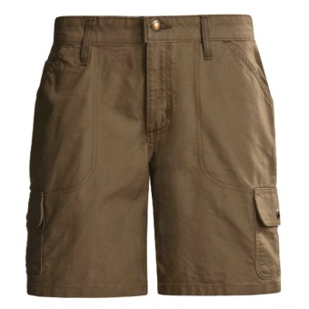 Carhartt Cargo Shorts - Canvas (For Women) in Light Brown