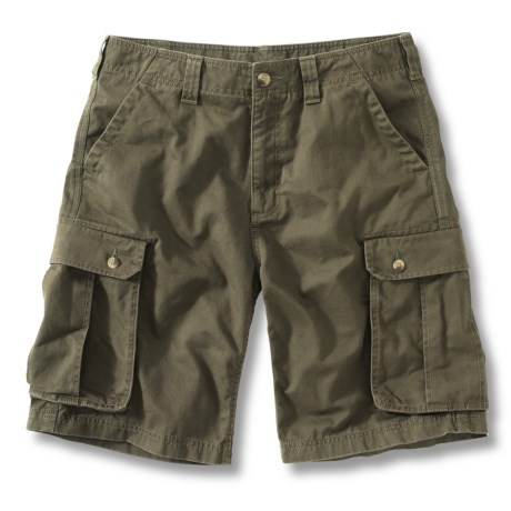 Carhartt Cargo Work Shorts (For Men) in Field Khaki