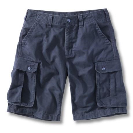 Carhartt Cargo Work Shorts (For Men) in Bluestone