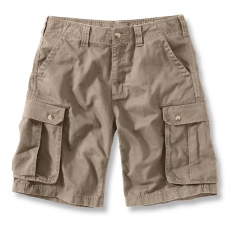 Carhartt Cargo Work Shorts (For Men) in Field Khaki