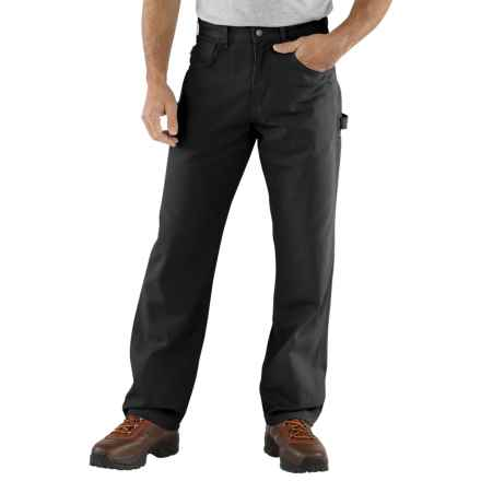 Carhartt Carpenter Jeans - Loose Fit, Factory Seconds (For Men) in Black - 2nds